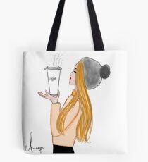 Miss Aura Winter Tote Bag