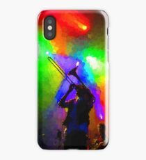 Rainbow Music - Trombone Solo in the Limelight iPhone Case/Skin