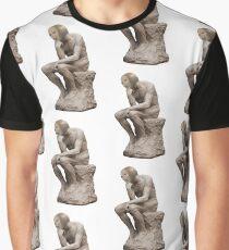 Surreal Thinker Meme Man  Graphic T-Shirt