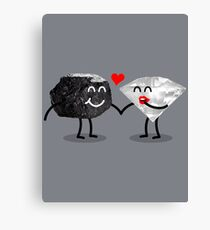 Carbon Dating Canvas Print
