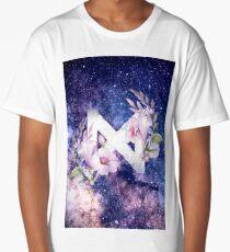 Monsta X Galaxy Flowers Long T-Shirt