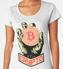 CRYPTO Women's Premium T-Shirt