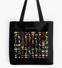 "Monkey Island ""My inventory"" bag Tote Bag"