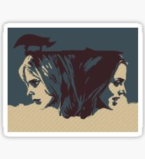 Buffy & Faith Sticker