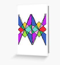 Tile #2 - Winter - Multicolour Greeting Card