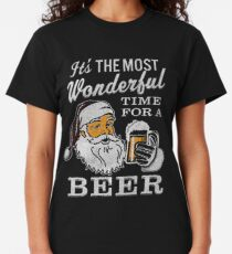 It's the Most Wonderful Time For a Beer Men's t-shirt - Beer Lovers Tee Classic T-Shirt