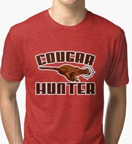 Cougar t-shirt Tri-blend T-Shirt