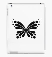Graphic Butterfly B&W - Shee Vector Shape iPad Case/Skin
