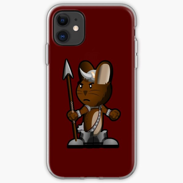 Lars The Viking Bunny iPhone Soft Case