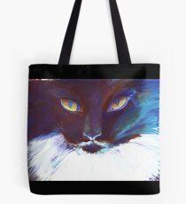 Feline Stare Tote Bag