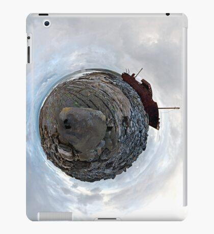Shipwreck on Inisheer: The Plassey Wreck iPad Case/Skin