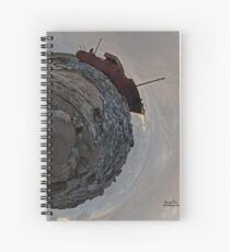 Shipwreck on Inisheer: The Plassey Wreck Spiral Notebook