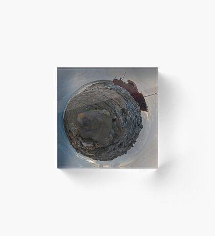 Shipwreck on Inisheer: The Plassey Wreck Acrylic Block