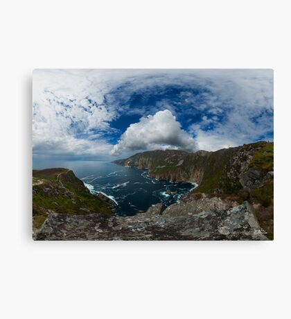 Bunglas - Highest Sea Cliffs in Europe? Canvas Print