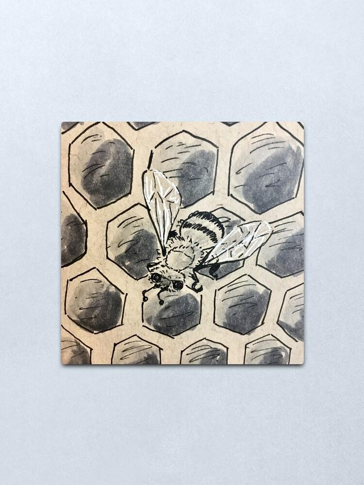 Alternate view of The Hive Metal Print