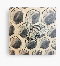 The Hive Metal Print
