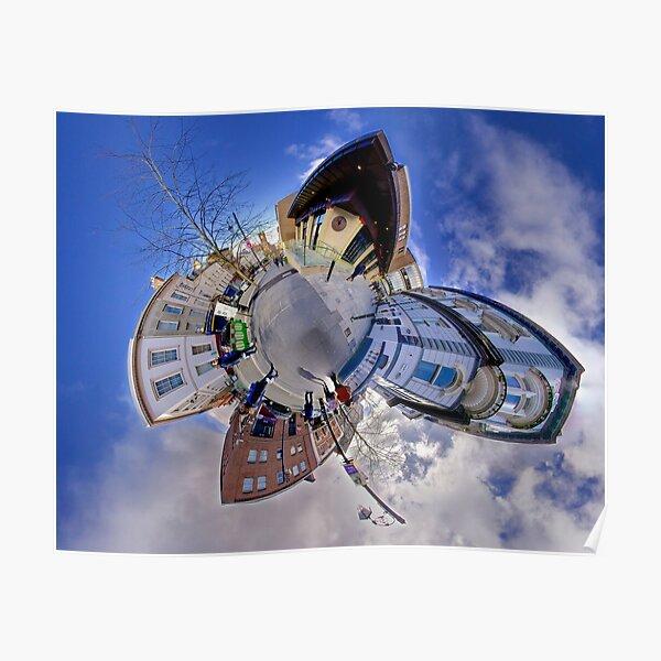 Shipquay Street Panorama - Spring 2014 Poster