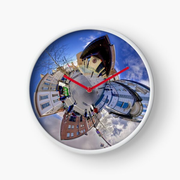 Shipquay Street Panorama - Spring 2014 Clock