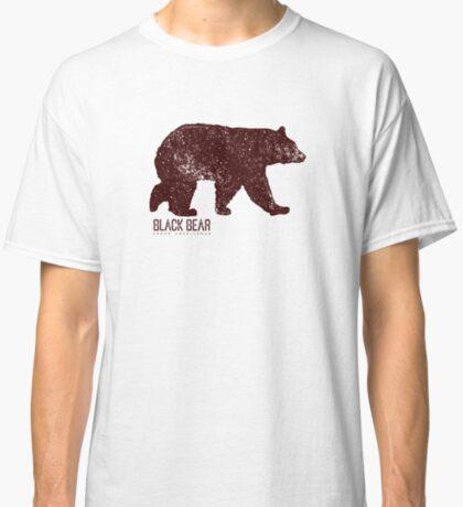 Black Bear Walking Classic T-Shirt