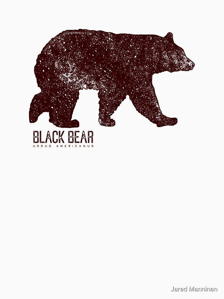 Black Bear Walking by JaredManninen