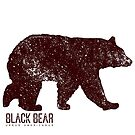 Black Bear Walking by Jared Manninen