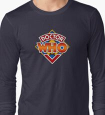 Doctor who Classic Logo 1 Long Sleeve T-Shirt