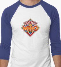 Doctor who Classic Logo 1 Men's Baseball ¾ T-Shirt
