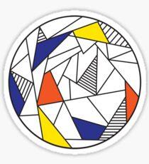 Fragment Color Wheel  Sticker