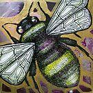 Bumbling Bee II by Lynnette Shelley