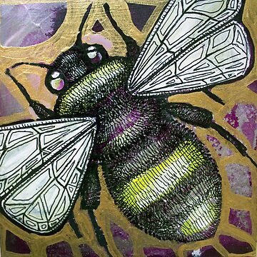 Bumbling Bee II by LynnetteShelley