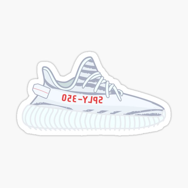 Yeezy Boost 350 V2 | Blue Tint Sticker