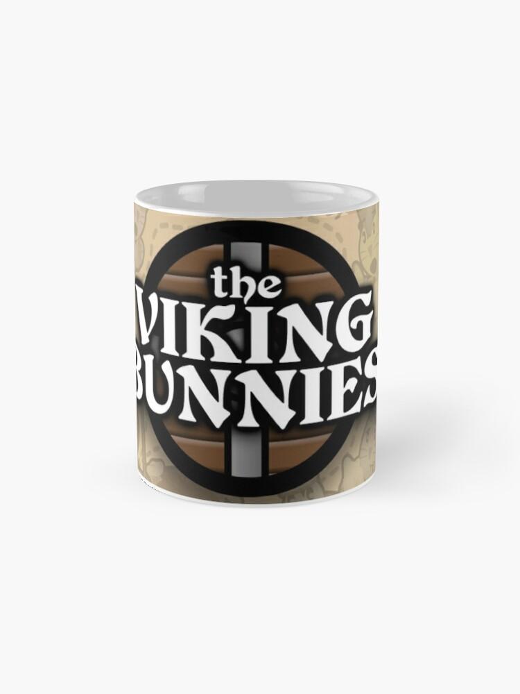 Alternate view of The Viking Bunnies Banner Mug