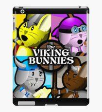 Viking Bunnies Pop Art iPad Case/Skin