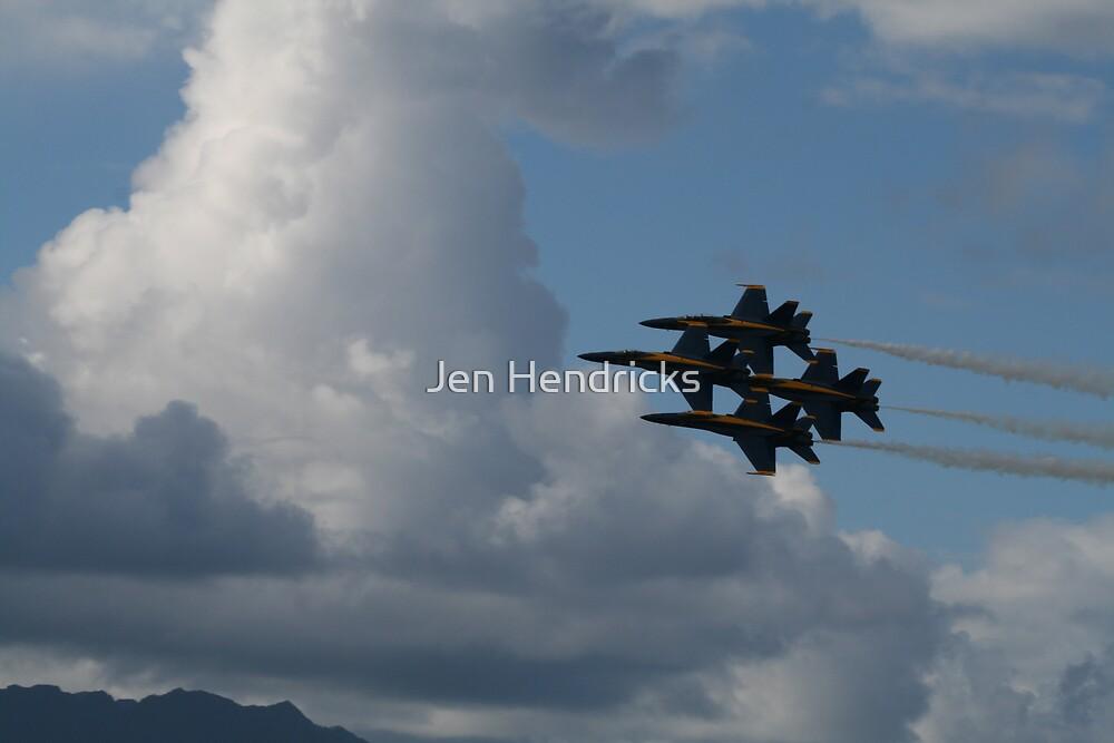 4-man Formation by Jen Hendricks