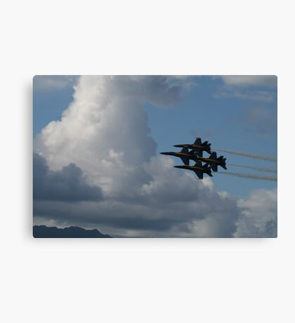 4-man Formation Canvas Print