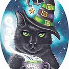 Georgette The Witch Cat by Deanna Davoli