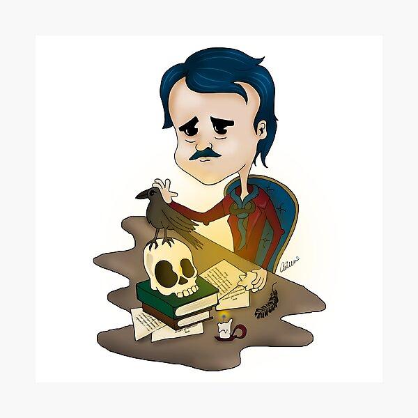 Edgar Allan Poe Photographic Print