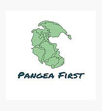 Pangea First! Photographic Print