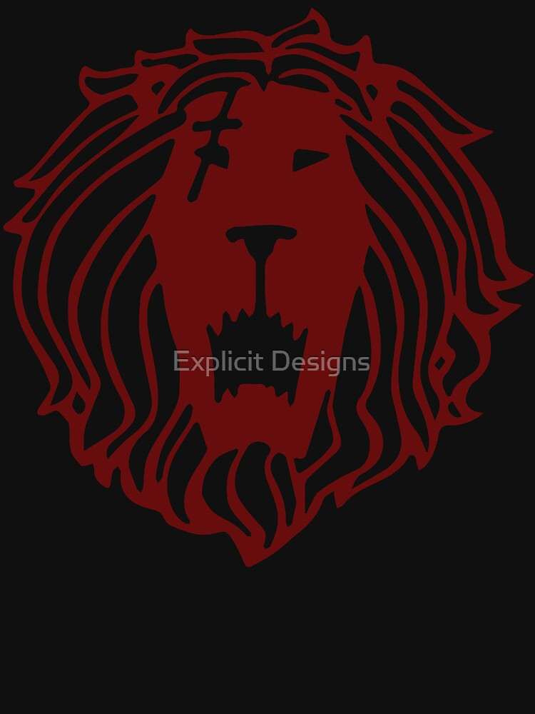 Lion's Sin of Pride (Tattoo Edition) [Back Print] by cybervengeance