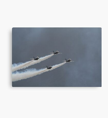 Coming out of the Clouds Canvas Print