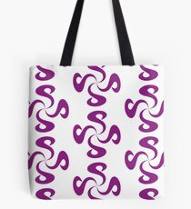 SheeArtworks Spiral Purple - Shee Vector Pattern Tote Bag