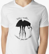 Why walk... Men's V-Neck T-Shirt