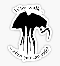 Why walk... Sticker