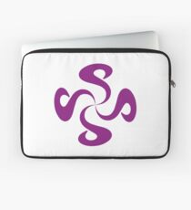 SheeArtworks Spiral Purple - Shee Vector Shape Laptop Sleeve