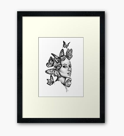Transformed  | The Beauty Collection Framed Print