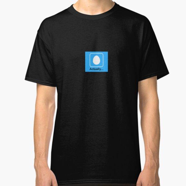 JFtC- 'Actually'  Classic T-Shirt
