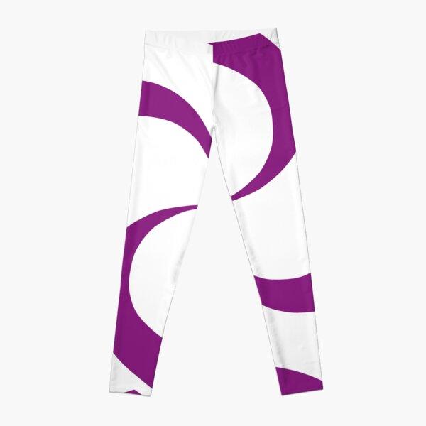 SheeArtworks Spiral Purple - Shee Vector Shape Leggings