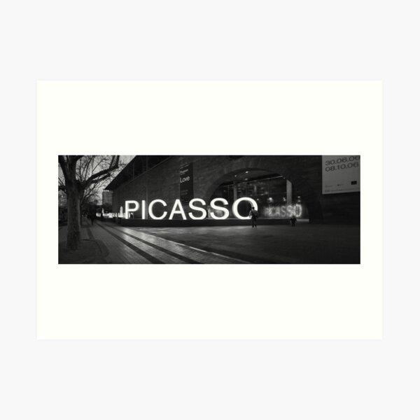 Picasso Panoramic Art Print