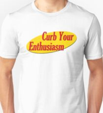 Curb Your Enthusiasm - Seinfeld Style T-Shirt