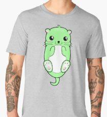 Chibi Green Otter Men's Premium T-Shirt